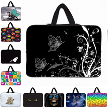 Flowers Notebook Laptop Bags For Women Apple Samsung Lenovo 10.1 11.6 13.3 14 15 15.6 17 Inch Mini PC Computer Handbags Cover