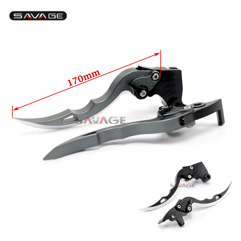 For Ducati Scrambler Classic 2015 2016 2017 Knife Blade CNC Long Brake &amp; Clutch Levers Motorcycle Accessories CNC Aluminum<br>