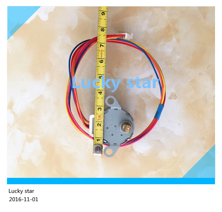 100% new for Air conditioning Stepper motor 24BYJ48A = GAL12A-BD DC 12V Synchronous motor good working<br><br>Aliexpress