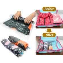 Hand Pressure Hand-Rolled Compressed Space Vacuum Seal Saver Storage Travel Bag Compression Space Saver L35
