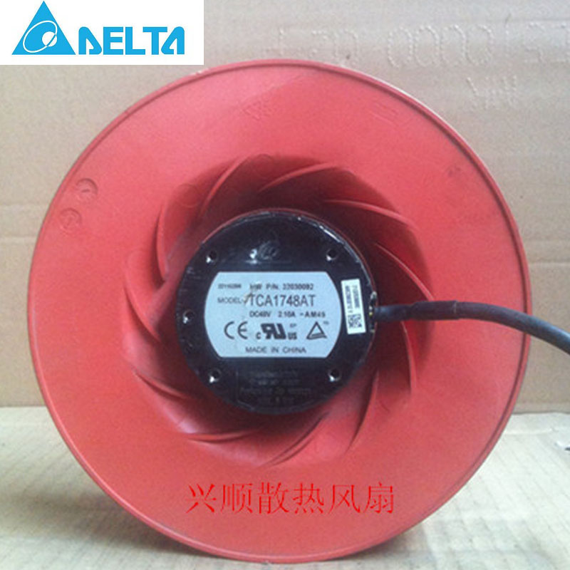 Delta 175X69MM TCA1748AT 175x69 mm 48V 2.10A 4000 RPM IP56 428 CFM PWM/TACH waterproof centrifugal fan<br>