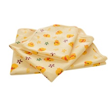 Cute Duckling Printed Newborn Baby Changing Pad Urinal Pad For Infant Bed Waterproof Cloth Diaper Inserts Changing Mat For Crib