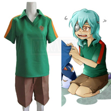 Anime Inazuma Eleven Yuto Kido Summer Soccer Football Cosplay Costume Halloween Christmas Custom Made Free Shipping(China)