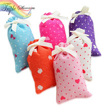 3 Pieces New Pattern Aromatherapy Natural Smell Incense Wardrobe Sachet Air Fresh Scent Bag TRQ267(China)
