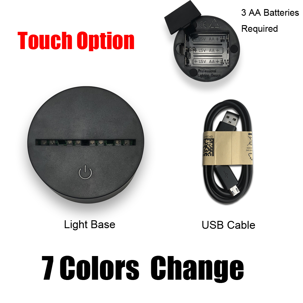 Touch 7 Colors base