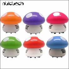by dhl or ems 200 pieces Mini Cute Personality Household Vehicle Cartoon Colored Mushroom Desktop Vacuum Cleaner