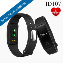 Buy ID107 Bluetooth Smartband Smart Band Bracelet Wristband Heart Rate Monitor Fitness Tracker Android IOS phone PK Mi Band 2 for $19.99 in AliExpress store