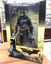 "NECA Batman Begins Bruce Wayne Joint Movable PVC Action Figure Collectible Model Toy 7"" 18cm(China)"
