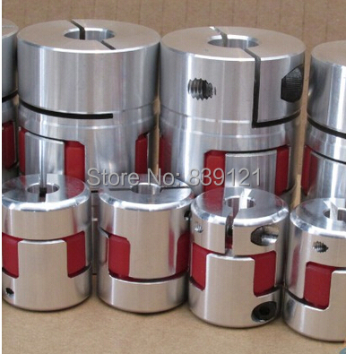 Free Shipping 20-45MM Couplers can do as your requires size shaft couplings OD80mm*L114mm flexible shaft for step motor<br><br>Aliexpress