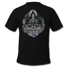 Buddha Men's T-Shirt Summer T Shirt Brand Fitness Body Building T-Shirt Short Sleeve Mens Summer Tops Tees T Shirt