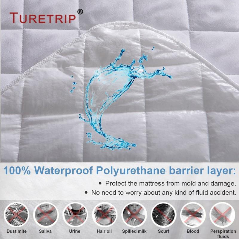 waterproof,Diamond Quilt Mattress cover (2)