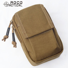 ROCOTACTICAL Waterproof EDC Military Sports Waist Packs Made of Cordura Nylon Money Phone Organzier Tactical Hiking Bag(China)