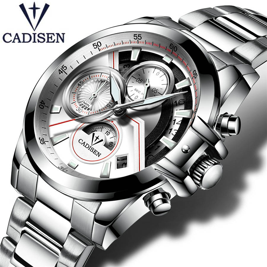 Original Watch Men Sport Quartz Male Watches Chronograph Wristwatch Auto Date Time Hour Clock Reloj Hombre Business Mens Watches<br>