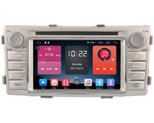 Android 6.0 CAR Audio DVD player FOR TOYOTA HILUX 2012 gps car Multimedia head device unit receiver support 4G BT WIFI