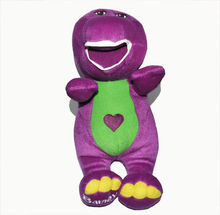 27cm Purple Singing Barney Songs by touching its body Original Barney and friends plush doll benny toys 11 inch