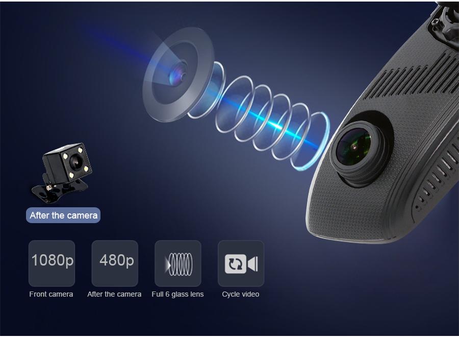 "Junsun 8"" 4G Special Mirror Car DVR Camera Android 5.1 with GPS DVRs Automobile Video Recorder Rearview Mirror Camera Dash Cam 8"