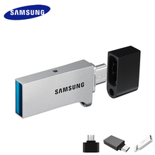 SAMSUNG micro USB Flash Drive Disk 130MBS 64GB 128GB USB 3.0 OTG Mini Pen Drive 32GB Pendrive Memory Stick Storage Device U Disk(China)