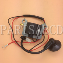 33cc 43cc 49cc 2 Stroke Ignition coil Mini Chopper Pocket Bike Gas Petrol Scooters Go Kart Mini Moto Parts