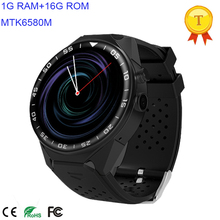 3G WIFI Smart Watch Cell Phone All-in-One Android 5.1 Supports Nano SIM Card With GPS Camera Heart Rate Monitor Google Map