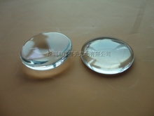 LED glass optical lens diameter 25MM Height 6.8MM and 11.6MM,Plano convex glass lens ,power LED lenses(China)