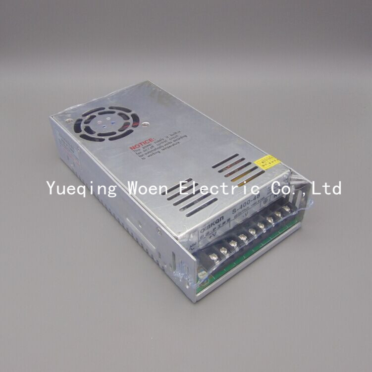 S-400-48 switch 48V 8.3A 400W transformer power supply LED monitor power supply<br>