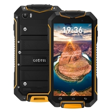 Original Geotel A1 3G Cellphone Waterproof 4.5'' MTK6580T Quad-core Android 7.0 1GB+8GB 1.3GHz 3400mAh Battery Mobile Phones(China)