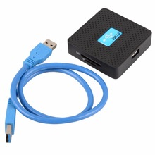 High Speed USB 3.0 Card Readers All in 1 SD TF CF XD M2 MS Flash Memory Card Reader Adapter(China)