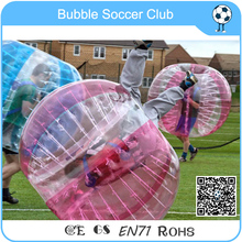 Free Shipping Best Selling Red/Clear Inflatable Bumper Ball,Bubble Football Suit ,Zorb Ball,Bubble Soccer