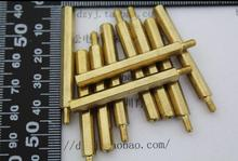 20pcs/lot 40 + 6 pillars 40 mm high 40MM M3 hexagon copper pillars Spacer(China)