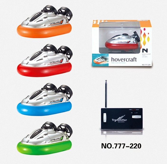 Mini Hovercraft 6 Channel RC Hovercraft Boat Amphibious Simulation radio control hovership electronic Toys(China (Mainland))