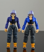 Dragon Ball Z Tamashii Nations SHF S.H.Figuarts Action Figure -Super SaiYan Trunks Premium Color Edition  Collection Model toys