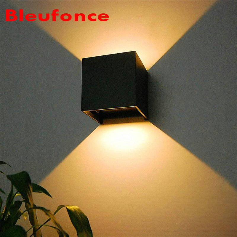 7W LED Outdoor Wall Lamp Waterproof IP65 Aluminum Up Down Wall Lighting AC85-265V Courtyard wall sconce Surface Mounted NB07<br><br>Aliexpress