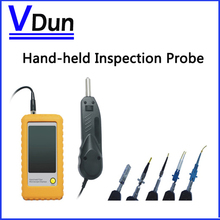 DHL Free shipping!!  Hand- held  fiber  Inspection Probe   VD-FC2  With 3.5inch LCD 250X fiber optical  Video microscope