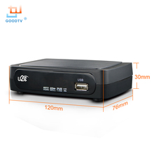 Tv Box U2C Tv Receiver Dvb-t2 Set-Top Box DVB T2 Digital Video Broadcasting Terrestrial Receiver DVB T/T2 Set Top Box TV Set(China)