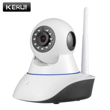 KERUI 720P HD Indoor Wireless Wifi home security surveillance ip camera with night vision infrared Network Internet camera(China)