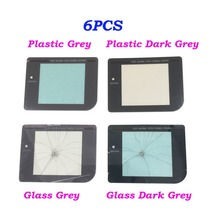 6PCS Plastic & Glass Play It Loud Dark Protective Screen Lens for Gameboy Classic GBO GB Lens Protector