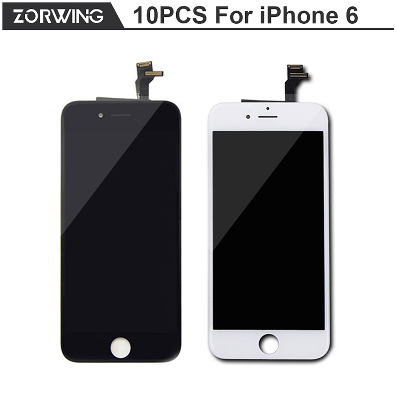 10PCS/LOT High Quality No Dead Pixel 4.7 inch LCD Display For iPhone 6 Screen Replacement With Digitizer Touch Screen<br><br>Aliexpress