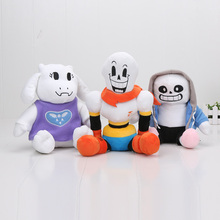 Kids Christmas Gift Papyrus Undyne SANS Toriel Plush Dolls Stuffed Toys New Arrival 22cm - 27CM Undertale plush  Japan Plush