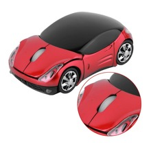 1000DPI Wireless Car Optical Mouse Car Shape Wireless Mouse Cool Fashion Precision Mice For PC Laptop + USB receiver(China)
