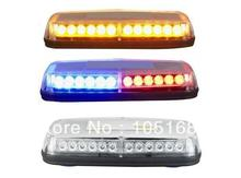United Safe free shipping ESM0925A low profile GEN III 1 Watt super bright LED mini Lightbar(amber/blue/red/white)