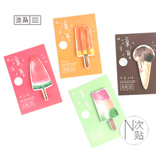 Creative Cute Fruit Ice-lolly Chocolate Ice-cream Self-Adhesive Memo Pad Sticky Notes Post It Memo Pads School Office Supplies