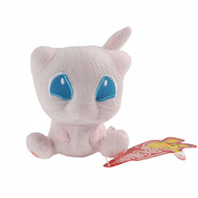 Wholesale  Plush Toys 12cm Mew Cute Stuffed Plush Animals Toy Dolls For Children Best Birthday Gift GOD020