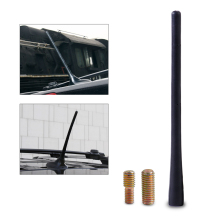 "DWCX 8"" 20cm Black Aerial Antenna Mast Car AM/FM Radio Short Stubby for Dodge Journey Avenger Charger Madnum Dart Durango Nitro"