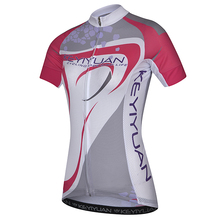 KEYIYUAN Cycling Summer Women's Short Sleeve Top Female Mountain Bike Bicycle Service Breathable Fast-drying Horse Riding Ports(China)