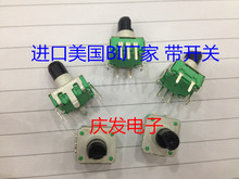 Original new 100% United States import BI manufacturer of rotary encoder potentiometer with switch line 5 pin 360 unlimite
