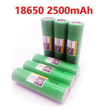 LiitoKala for Samsung Original 18650 2500mah INR1865025R 20A discharge lithium batteries, electronic cigarette Battery