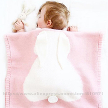 Baby Play Mats Rugs Blankets Rabbit Crochet Newborn Blanket Kids Personalized Toys Mats Cover Appease Sofe Babies Photo Props