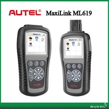Autel ABS/SRS + CAN OBDII DIAGNOSTIC TOOL MaxiLink ML619 Diagnoses ABS/ SRS system codes on most 1996 and newer major vehicles(China)