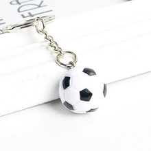 1Pcs 3 Styles  Hot Selling  Football Basketball Golf Ball Pendant Keyring Sports Metal Keychain Car Key Chain Key Ring