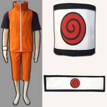 Naruto Uzumaki Naruto Cosplay Costume 3nd version Full Suit Cartoon Character Costumes
